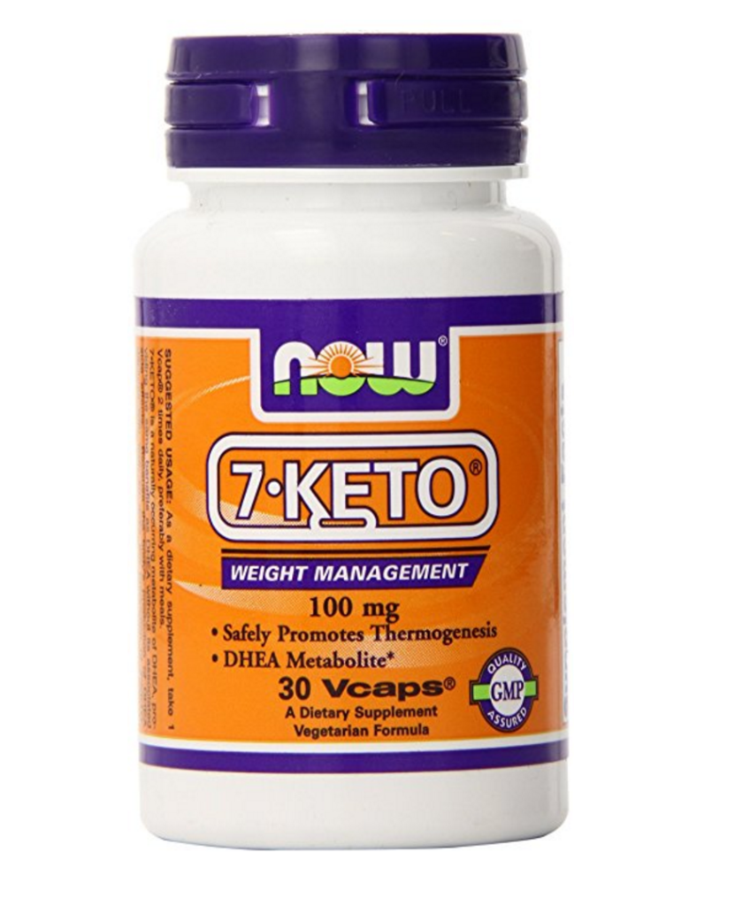 increase your energy with NOW 7-KETO DHEA