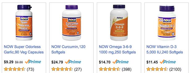 NOW Brand best anti inflammatory supplements