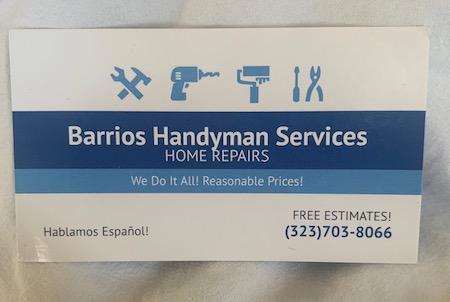 Handyman Service Redlands Cal 92374