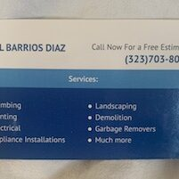 Handyman Services from Fidel Barrio