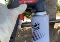 Learn How you can spray paint easy